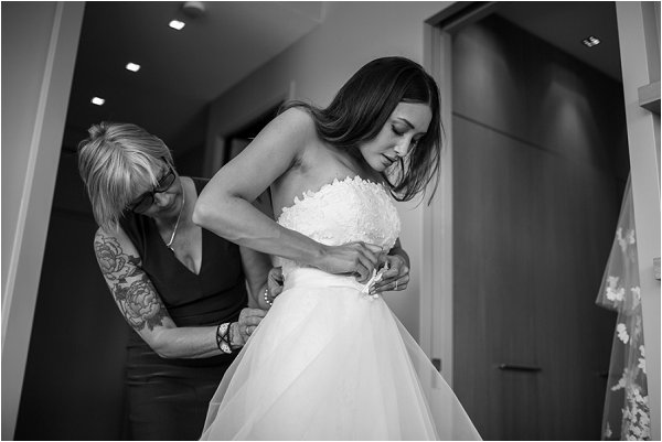 bridal preparations in Paris