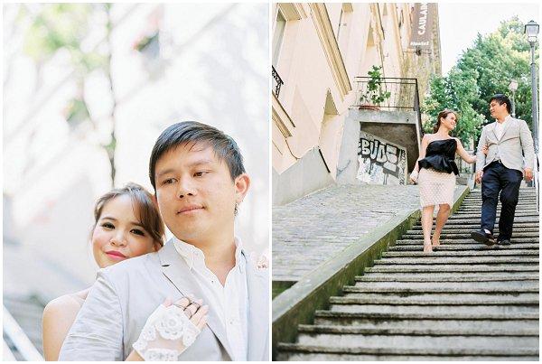 celebrating love in Paris