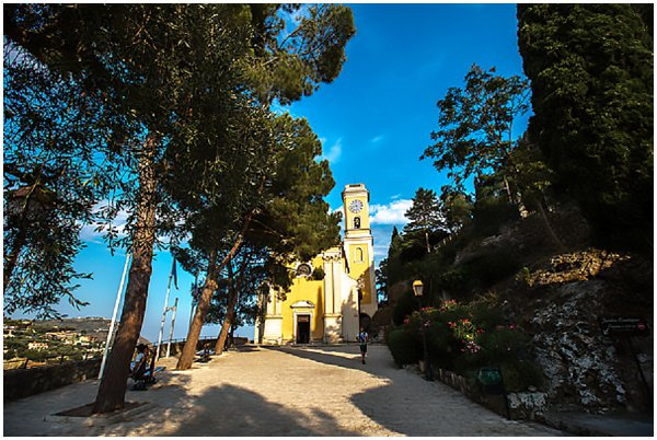 church in Eze France