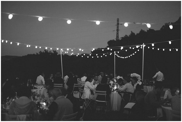evening wedding lighting ideas
