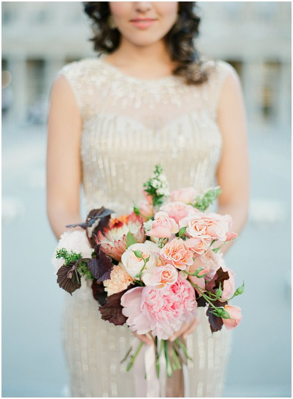 fall inspired wedding flowers