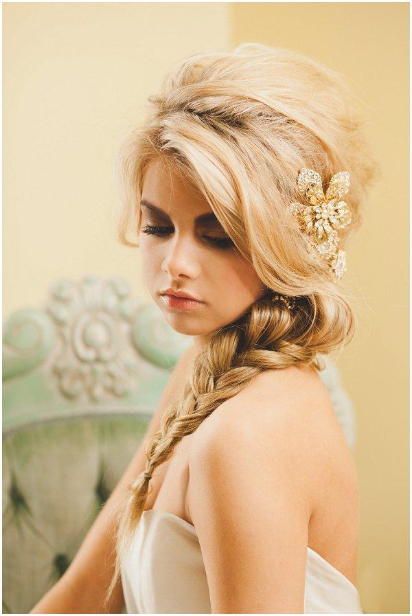 fishtail wedding day hair ideas