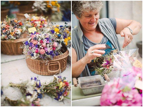 flower stall in France