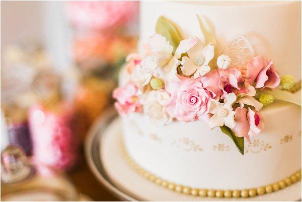 flower wedding cake South of France