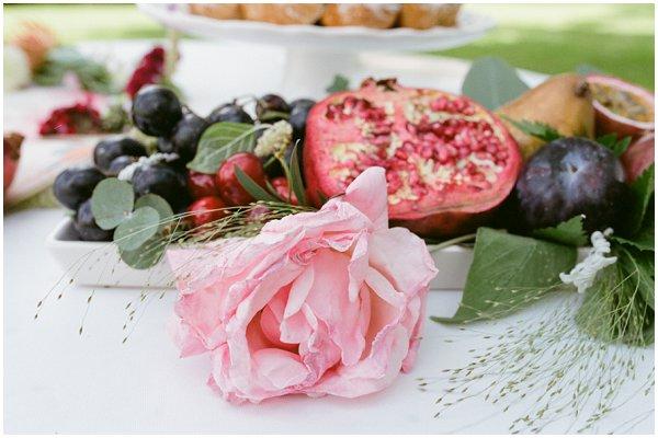 fruit wedding ideas