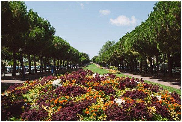 gardens in La Rochelle