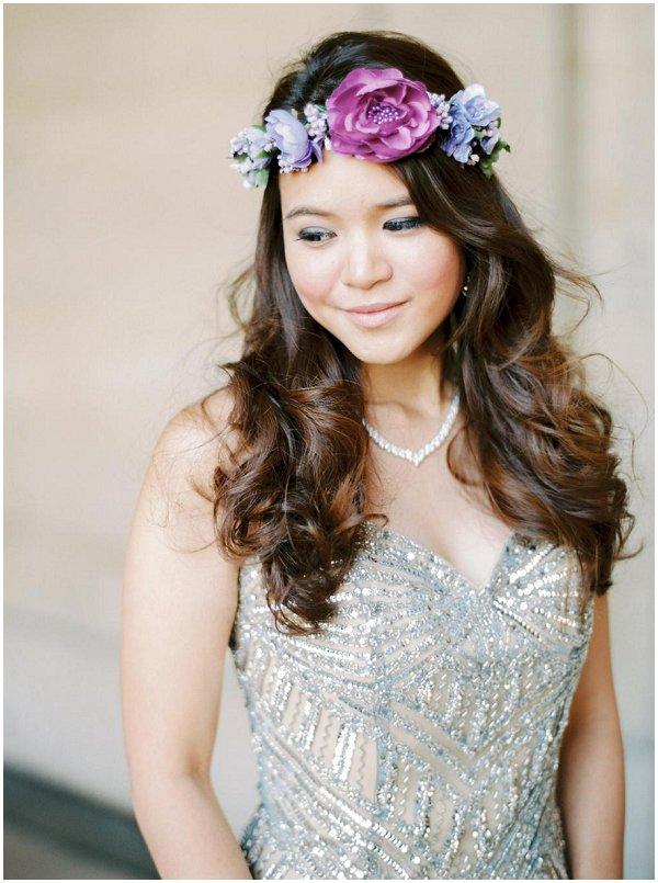 gold alternative wedding dress