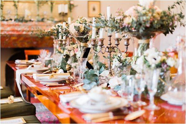 grand chateau wedding table
