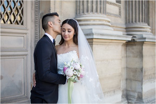 intimate wedding in Paris