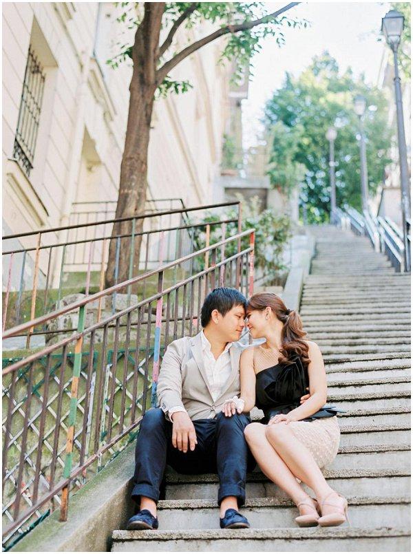 love photo session in Paris