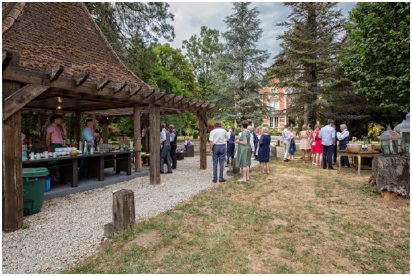 outdoor wedding reception venue