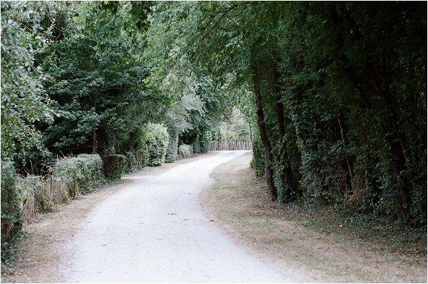 pretty roads in France