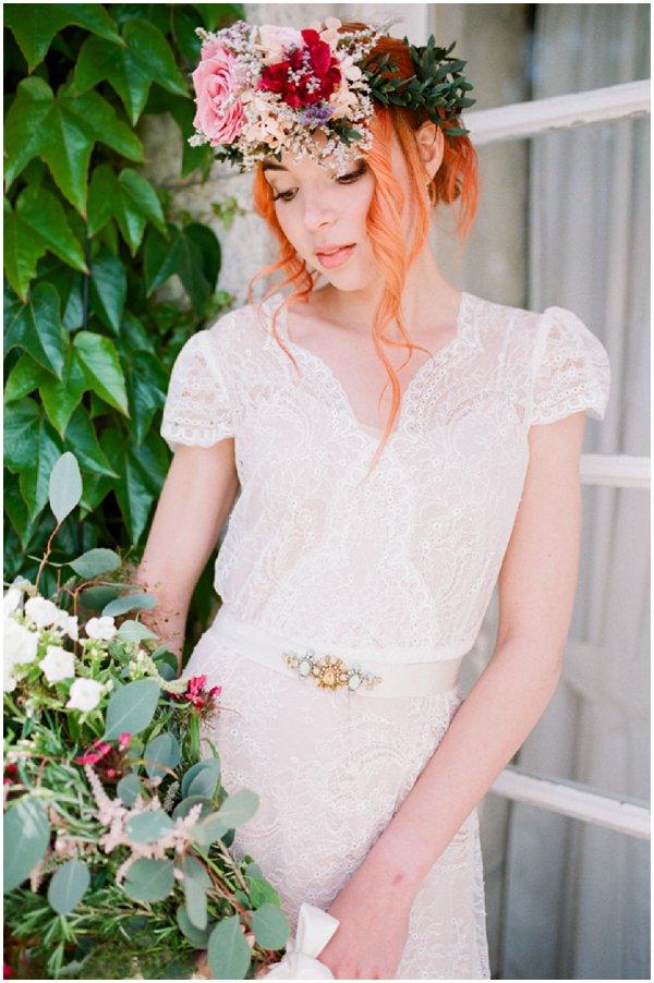 rock n roll bridal style