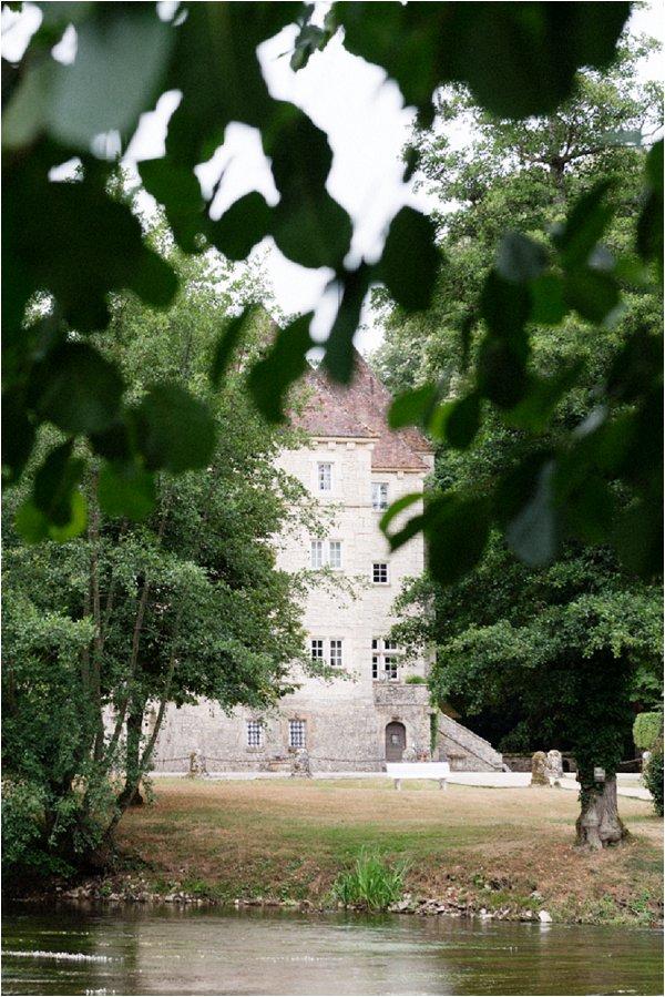 romantic french wedding chateau