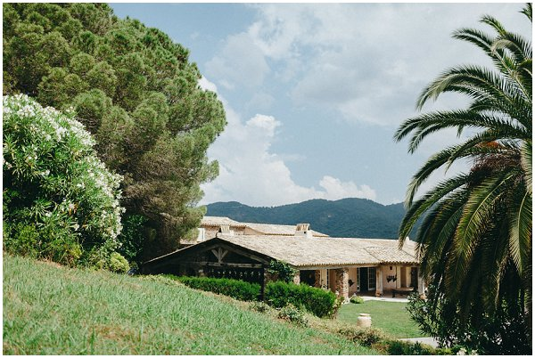 rustic wedding venue in Provence