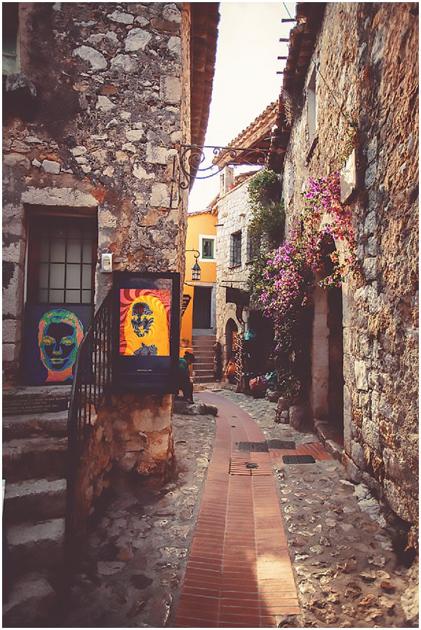 village of Eze France