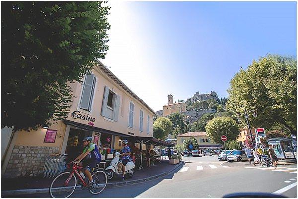 village of Eze in France