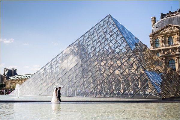 wedding Louvre Paris