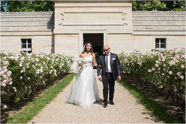 wedding at La Chapelle Expiatoire