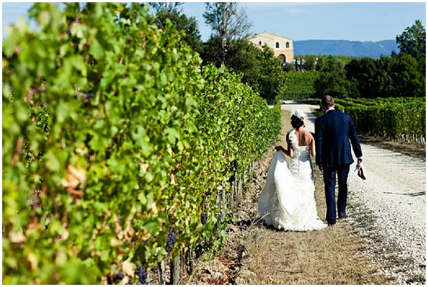 wedding in a French Vineyard