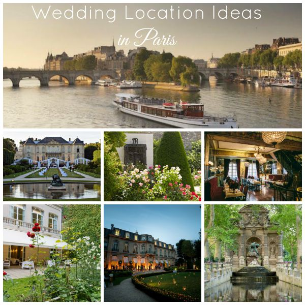 wedding location ideas in Paris