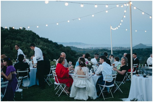 wedding under the stars
