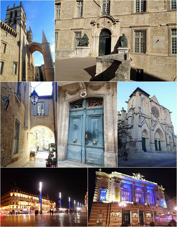 Exploring Montpellier