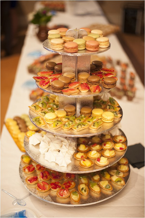 French dessert tower