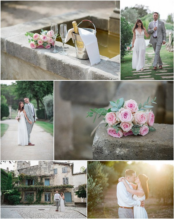 Intimate Elopement in Provence