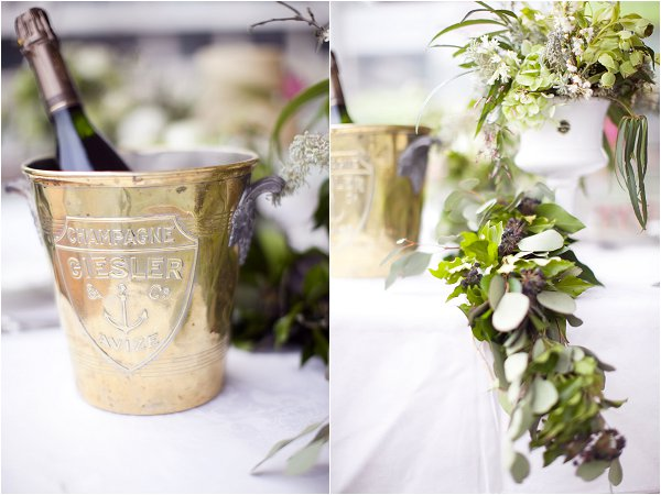 Parisian chic wedding details