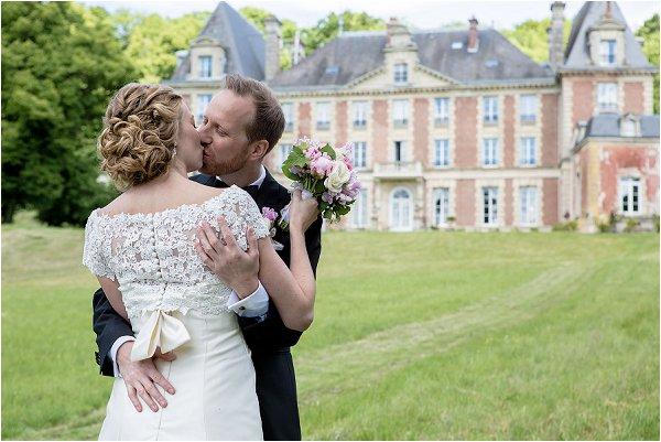 Scandinavian wedding near Paris