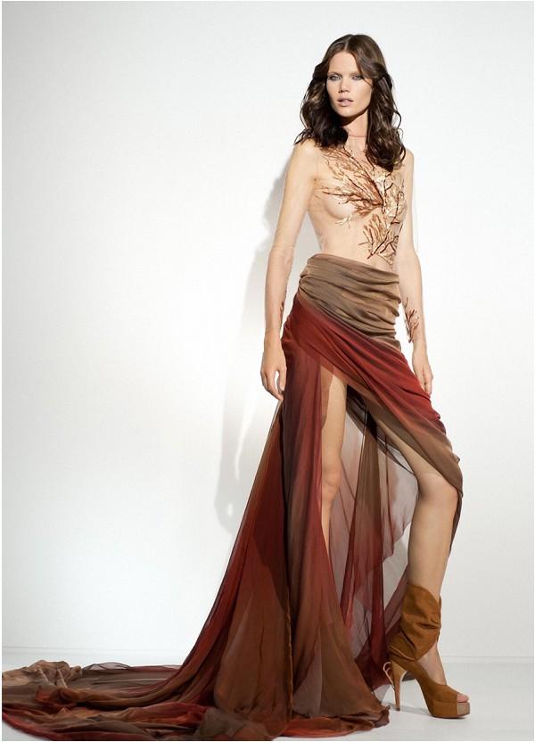 alternative wedding dress by Paolo Corona Paris