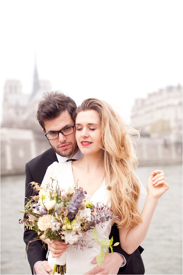bohemian real wedding in Paris