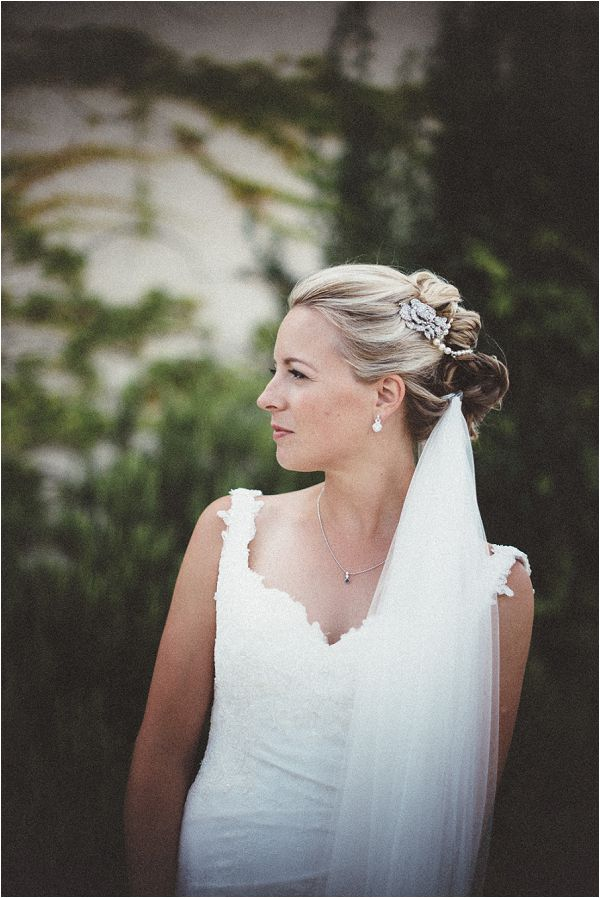 classic bridal hairstyle