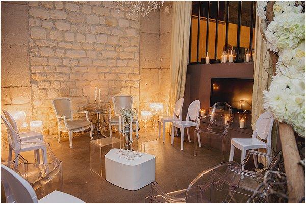 elegant furniture hire in Paris