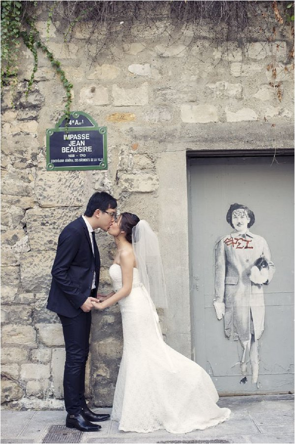 elopement package to Paris