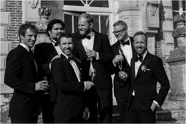 grooms in tuxedos