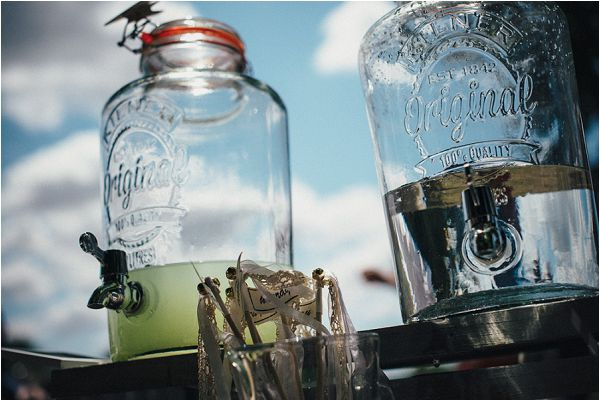 ideas for wedding drink dispensers