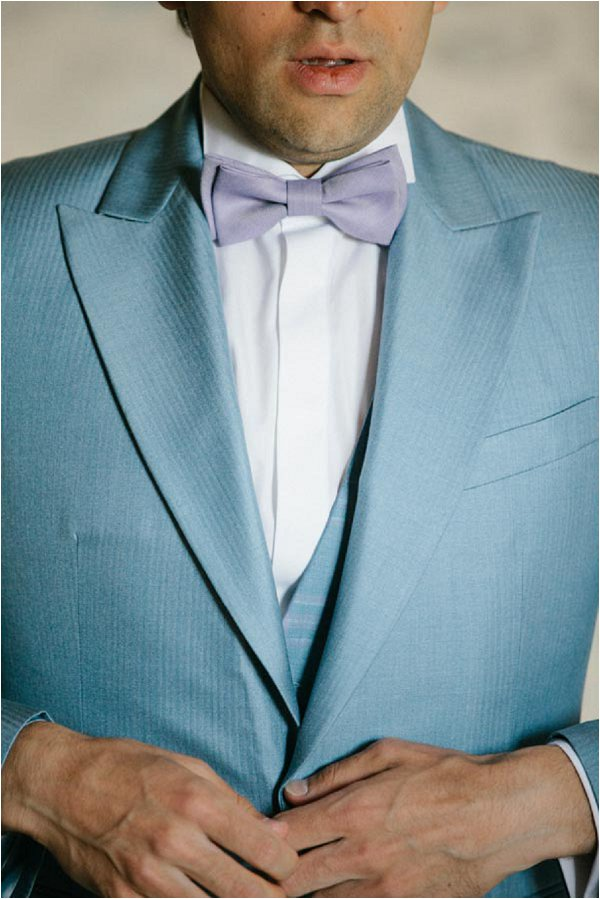 light blue grooms suit