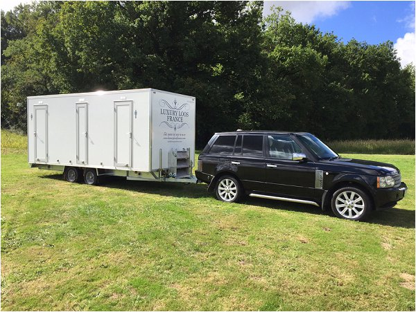 luxury mobile loos France