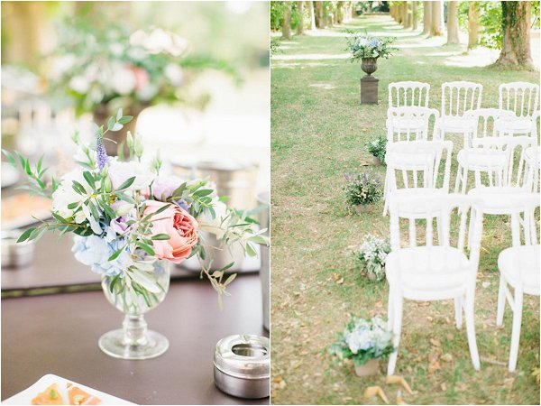 pretty Provencal wedding details