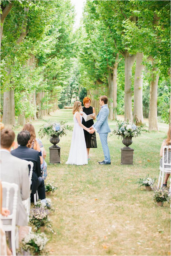 real Provence wedding