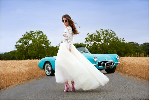 rock n roll wedding dress