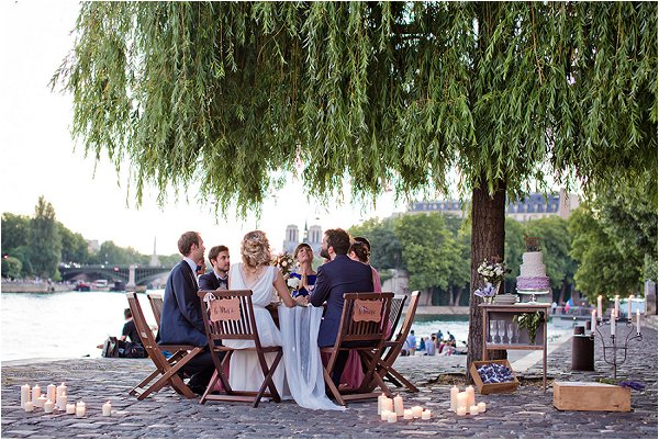romantic elopement plannng in Paris