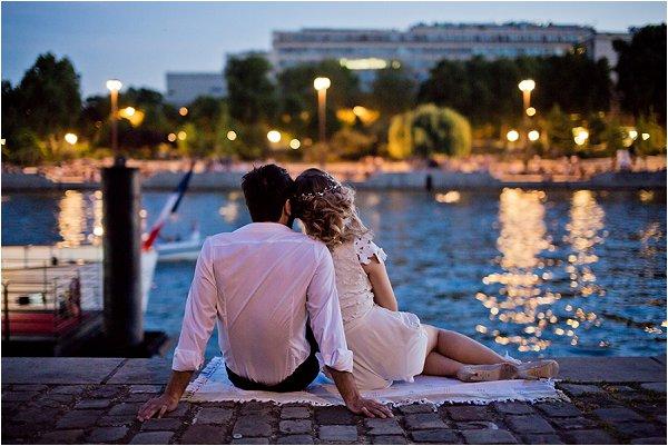 romantic evening in Paris