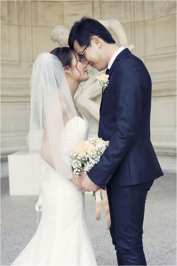 romantic planned elopement to Paris