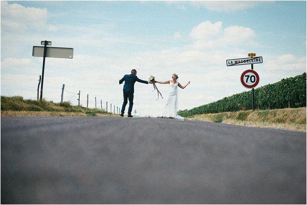 rural French wedding planning