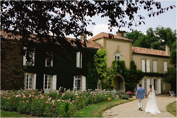 Chateau Malliac wedding