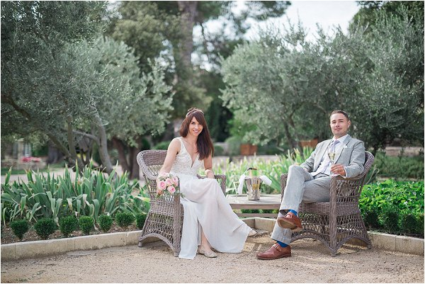 small wedding in Provence