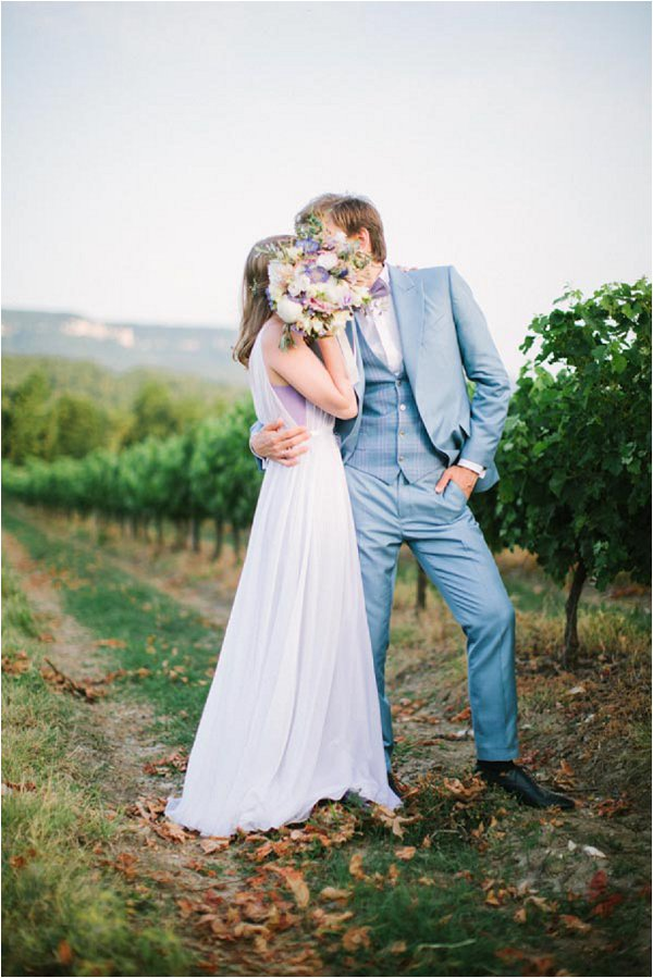 vineyard wedding in Provence